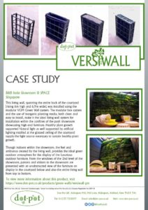 thumbnail of Dot-Pot Case Study – VersiWall GM – B&B Italia Showroom Singapore