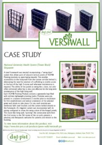 thumbnail of Dot-Pot Case Study – VersiWall GM – National University Health System Singapore