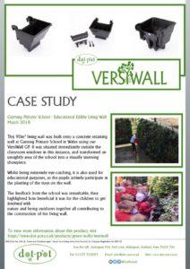 thumbnail of Dot-Pot Case Study – VersiWall GP – Garnteg Primary School March 2018